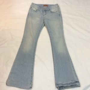 Seven7 light blue sexy flare jeans